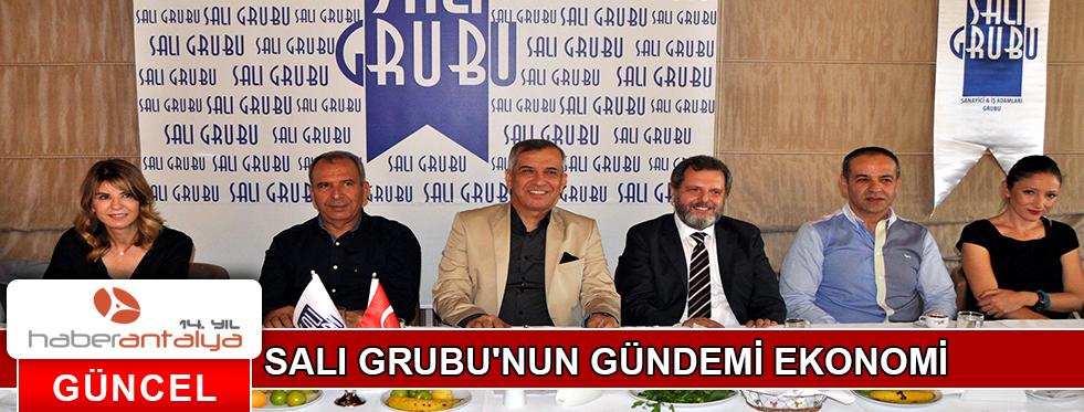 SALI GRUBU'NUN GÜNDEMİ EKONOMİ