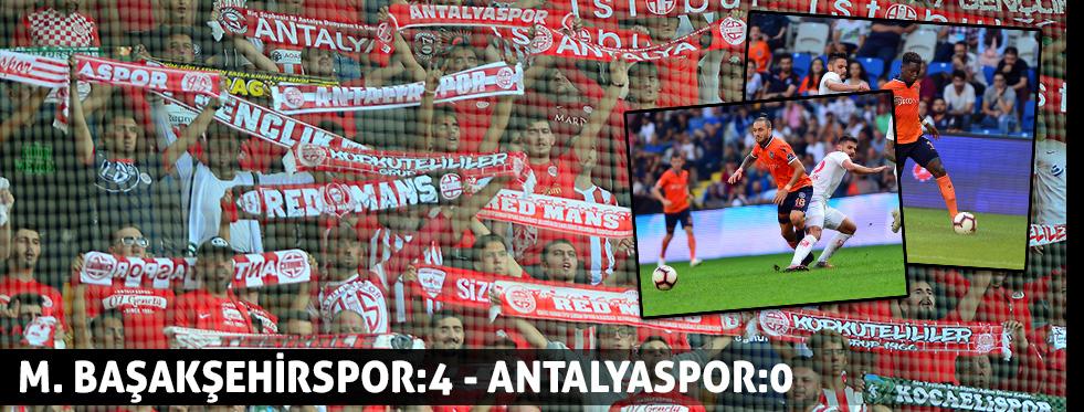 Spor Toto Süper Lig: Medipol Başakşehir: 4 - Antalyaspor: 0