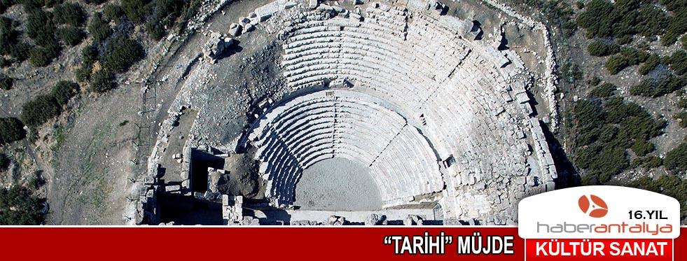 """Tarihi"" müjde"