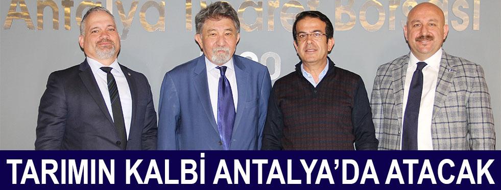 Tarım Antalya'da konuşulacak
