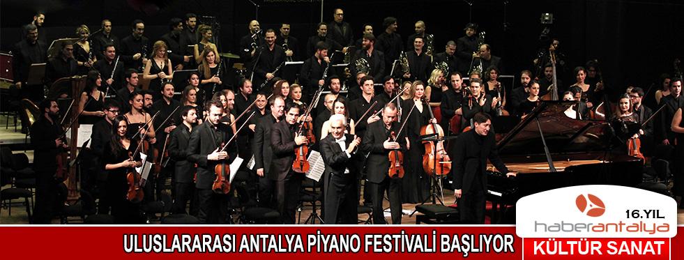 Uluslararası Antalya Piyano Festivali başlıyor