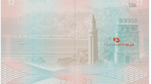 Yeni nesil pasaportlara Antalya'dan 2 görsel