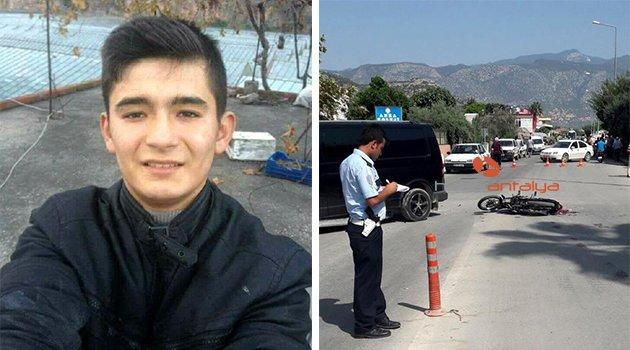 Yine motosiklet kazası: Antalya'da bir can daha gitti