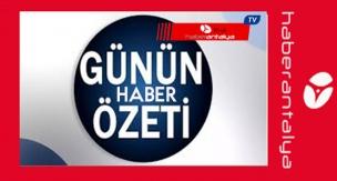 HABERLER  GÜNÜN ÖZETİ 21/08/2020