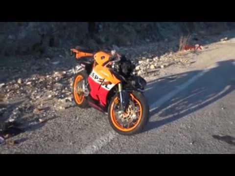 ŞUBE MÜDÜRÜ MOTOSİKLET KAZASINDA ÖLDÜ