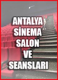 ANTALYA SİNEMA SALONLARI